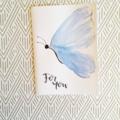 Card - Blue Butterfly