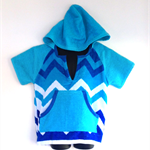 Boys Size 4 Beach Towel shirt/Pool Cover up