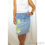 Women's Upcycled Skirt Size Large