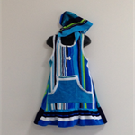 Size 6 Girls Beach Towel Dress/Pool Cover up