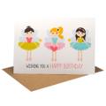 Birthday Card Girl, Fairies Card, HBC207