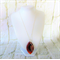 Luxurious sterling silver chain necklace with red onyx agate druzy pendant.