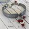 Spoon Bracelet, Stainless Steel, Flatware, handmade, Charms, Recycled Bracelet,