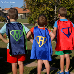 Superhero Capes - Made to Order - Personalised