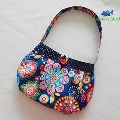 Pleated Purse / Pleated Bag / Girls Purse / Girls Bag / Hand Bag / Shoulder Bag