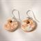 Ceramic pendant earrings
