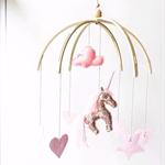 Copper Sparkle Unicorn  Mobile  ♥ (custom)
