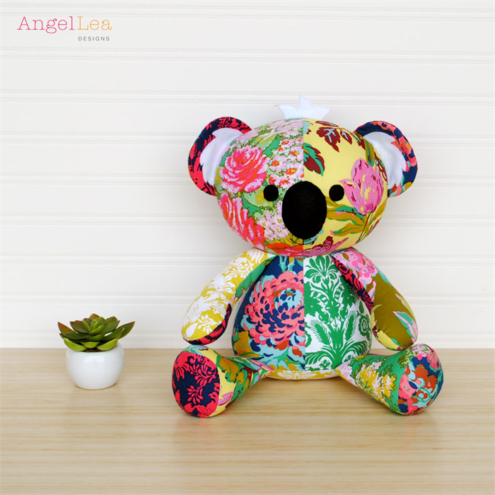 Koala Sewing Pattern Stuffed Animal Koala Softie PDF Sewing Pattern ...