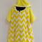 Size 6 Girls Short Sleeve Beach Towel Dress with side pockets