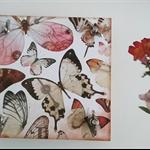 Flower press - multi butterflies