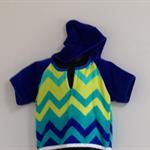 Size 2 Boys Beach Towel Shirt