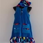 Girls Size 10 Beach Towel Dress