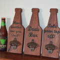 Beer Bottle Opener - Fathers Day