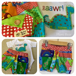SUPACOOL MAVERICK BLOOMIES 'Raawr like a Dinosaur' Boy, Bloomers, Shorties
