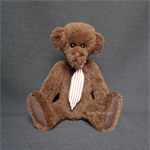 'Geordie' -  an artisan collectible bear