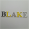 Wooden 6cm Wall or Door Letters. 5 letters.