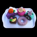 FELT FOOD CAKE SET TREATS