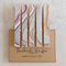 Pastel Marbled Paper - Peg Magnet - Magnetic Memo Pegs - Set of 5