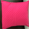 """Cushion cover (single) Pink with Laura Blythman """"In the Clods"""" fabric"""