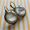 Winnie-the-Pooh jewellery- Buzz Says the Bee - A. A. Milne - glass dome earrings