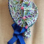 Vintage 50s Retro Sun Bonnet Size 0 - 6 months ☆ One Off ☆ Ready to Send  ☆
