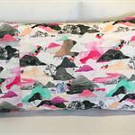 Pillowcase (pair) Handmade Laura Blythman fabric AU std size