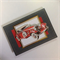 'Sporty Red Classic Vintage 3D Car' on Charcoal Pearlised Birthday Card
