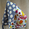 Retro Reversible Sun Bonnet / Hat Size 3 - 12 months ☆ One Off ☆ Ready to Send