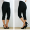 3/4 length capri pants, stretch bengaline pants, sizes 6-16 made to order