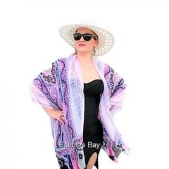 PINK Silk Kimono Cover up