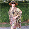 Elegant Silk Kimono Robe in metallic green