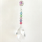 Rainbow crystals long suncatcher