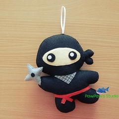 Ninja / Ninja Ornament / Ninja Home Decor / Ninja Toy / Ninja Plush