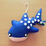 Whale Shark / Whale Shark Ornament / Whale Shark Home Decor / Fish Decoration