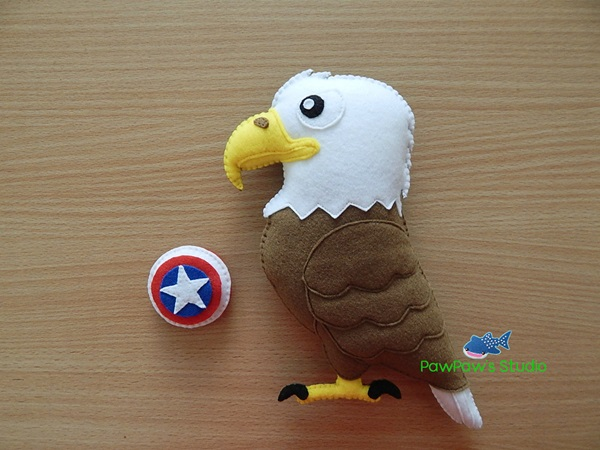 Bald Eagle Magnet Home Decor