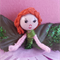 Flower Fairy Doll 💗 Each miniature fairy individually handmade ☆ Ready to send