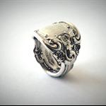 Genuine Sterling Silver Spoon Ring | Hallmarked | Gorham 1948