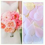 Eco-Confetti Petals.Wedding Confetti. Designed and Made in Melbourne.