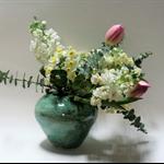 Green Handmade Ceramic Vase