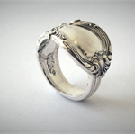 Original Sterling Silver Spoon Ring | Gorham Design | Circa: 1900