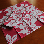 Cloth Napkins (set of 4) Reusable, Gift Idea