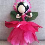 Flower Fairy Queen ☆ Steiner Doll ☆ Handmade ☆ Ready to send ☆