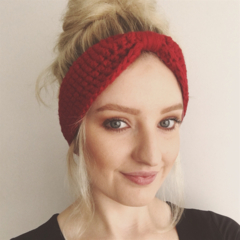 Crochet Turban Style Headband - Adult - Many colours available