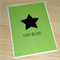Fathers Day card - large star
