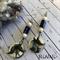 Earrings, Dangle, Bohemian, Ethnic, Handmade, Ceramic , Hippie, Gypsy,