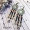 Earrings, Dangle, Bohemian, Ethnic, Handmade, Stone , Hippie, Gypsy,