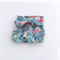 Pretty Blue Floral high waisted bloomers bloomies with bow sash