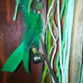 Dream Catcher Love Bird Nest Driftwood Branch Mini Bottle Shell Ribbon Drusy