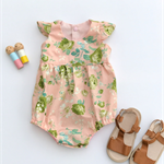 Carly Floral baby doll Romper Playsuit