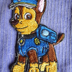"""Police Dog"" Iron-on Badge"